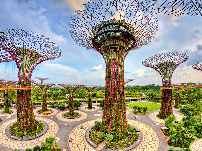 Gardens by the Bay Top 10 places to visit in singapore for family in may