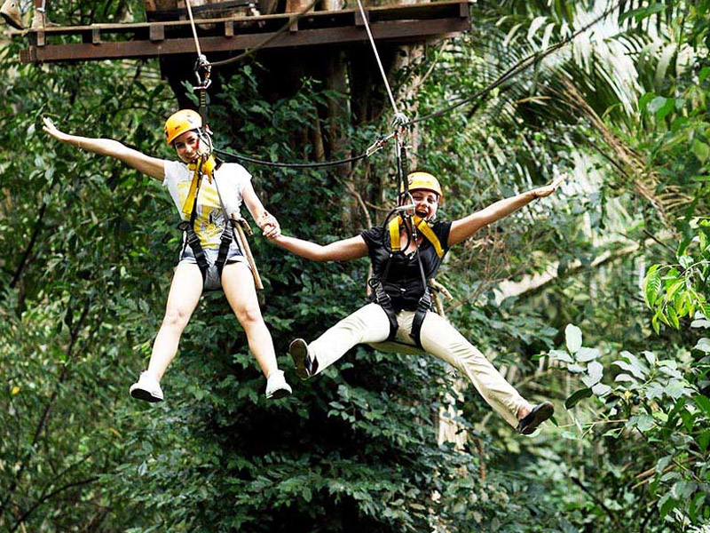 Megazip Adventure Park Top 10 places to visit in singapore for family in may