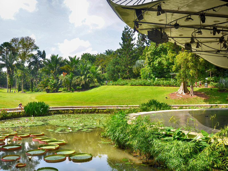 Singapore Botanic Gardens Top 10 places to visit in singapore for family in may