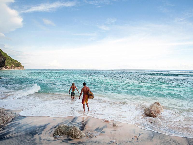 Green Bowl Beach Top 10 Honeymoon Beaches in Bali