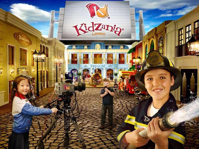 Kidzania top 10 theme parks in dubai