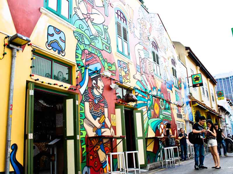 Tread upon the Haji Lane top 10 things to do in kampong glam singapore