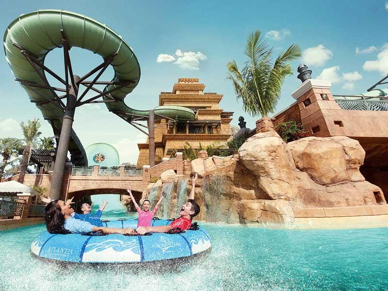 aquaventure waterpark top 10 theme parks in dubai
