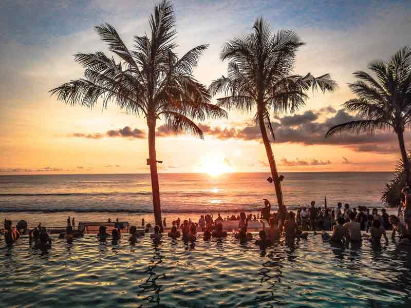 enjoy a sunset cocktail things to do in south bali