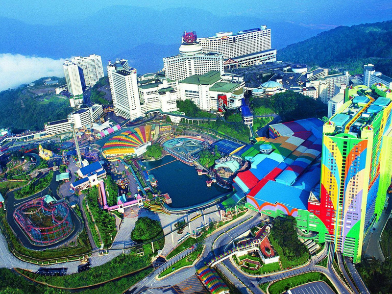 genting highlands theme park top 10 theme park in malaysia singapore