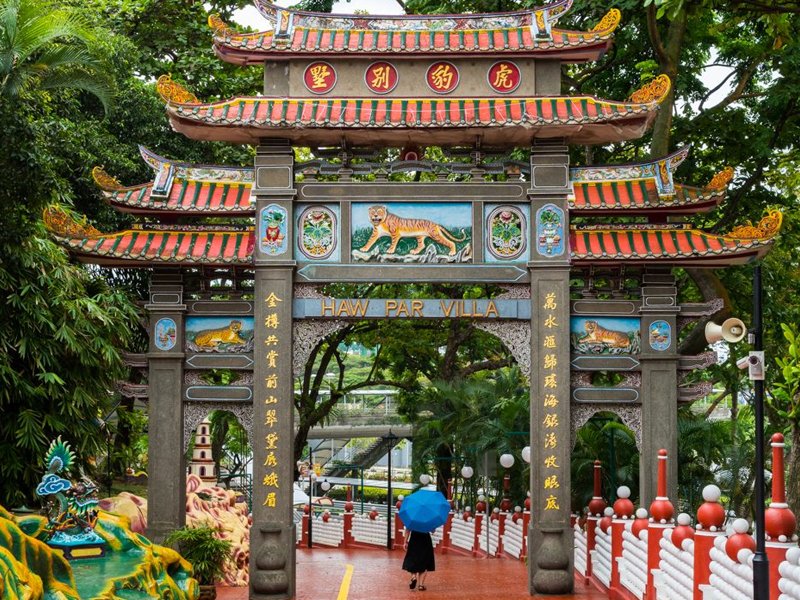 haw par villa (Harbourfront) top 10 theme park in malaysia singapore