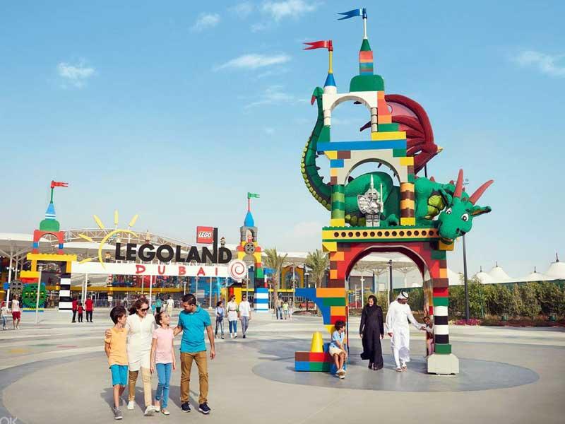 legoiand dubai top 10 theme parks in dubai