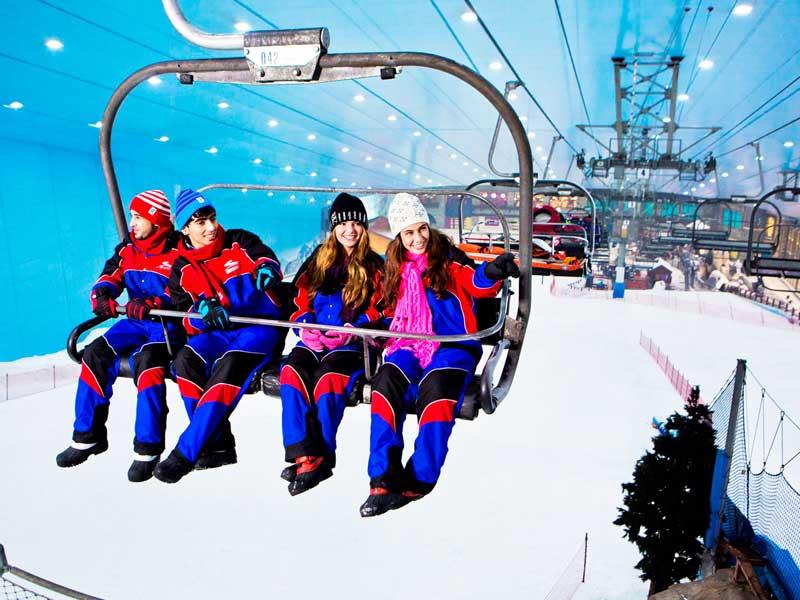 ski dubai top 10 theme parks in dubai