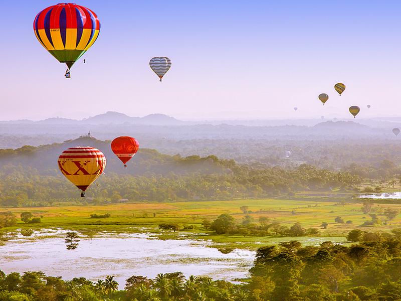 Air Balloon in Dambulla