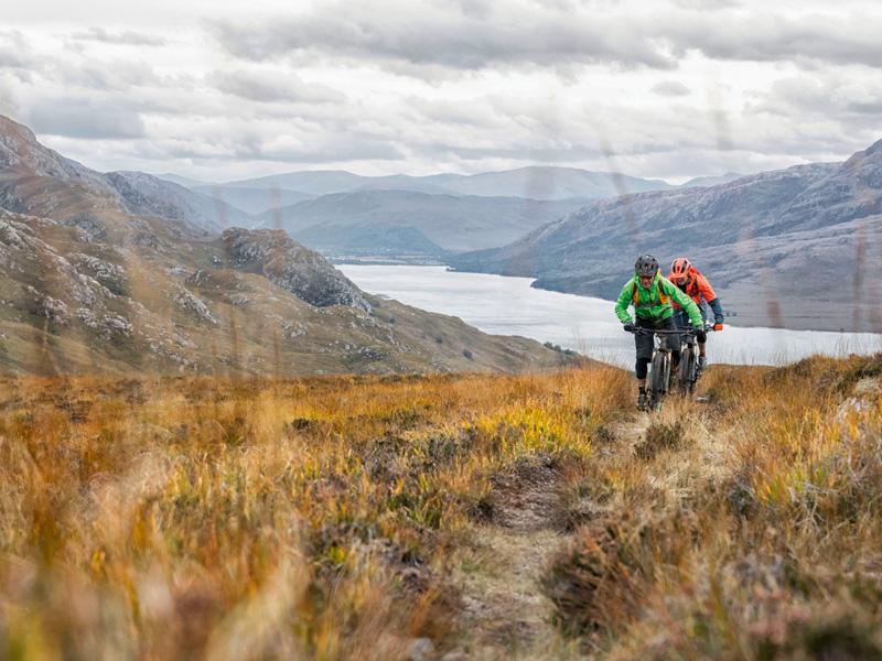 Highlands for Mountain biking