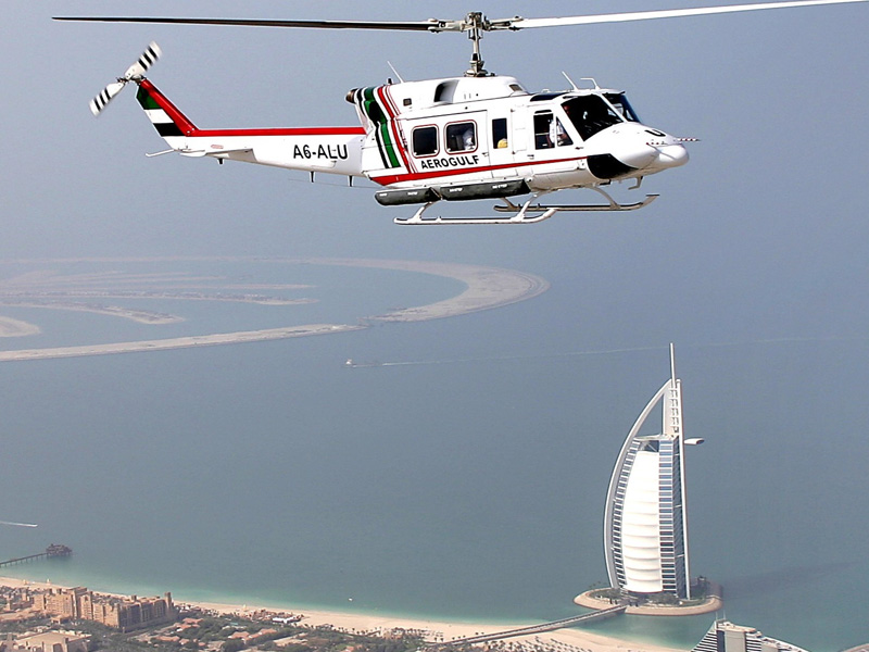Take a helicopter ride Top 15 Things to Do Dubai at Night