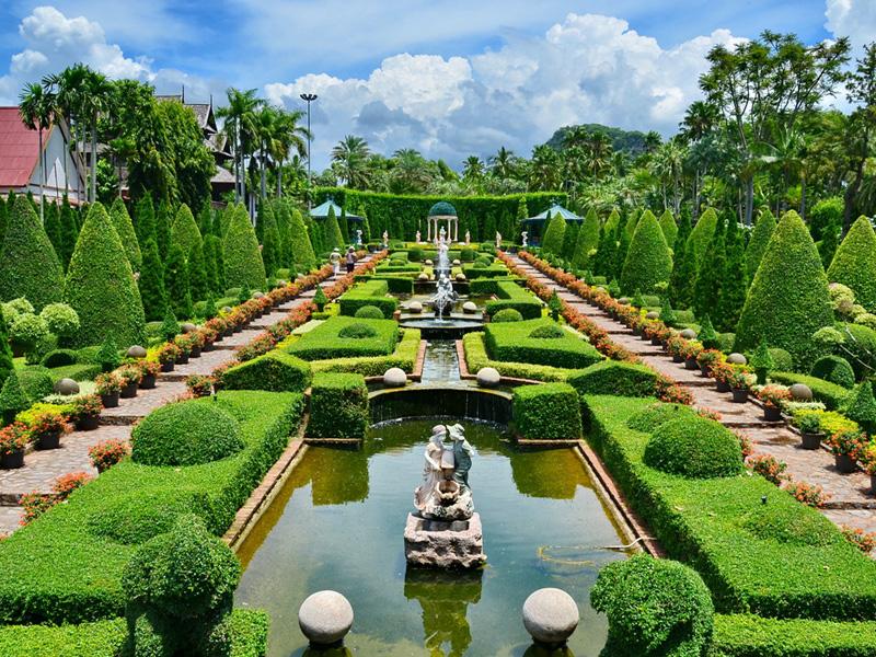 Botanical Garden Top 14 Honeymoon Places in Bangkok Pattaya