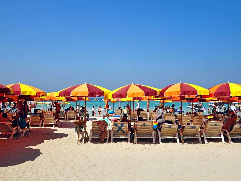 Jomtien Beach Top 14 Honeymoon Places in Bangkok Pattaya