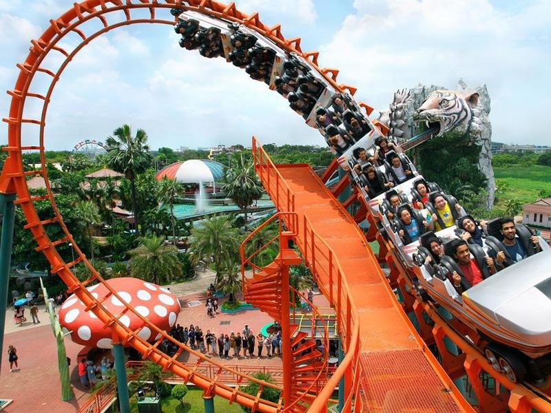Siam Park City or Dream World Top 14 Honeymoon Places in Bangkok Pattaya