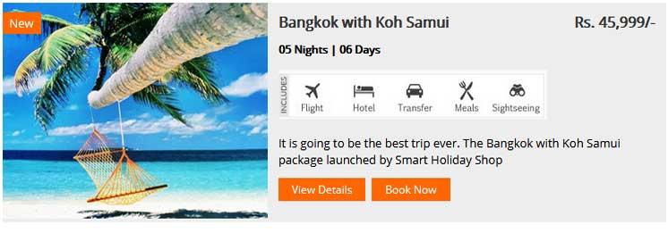 Bangkok With Koh Samui
