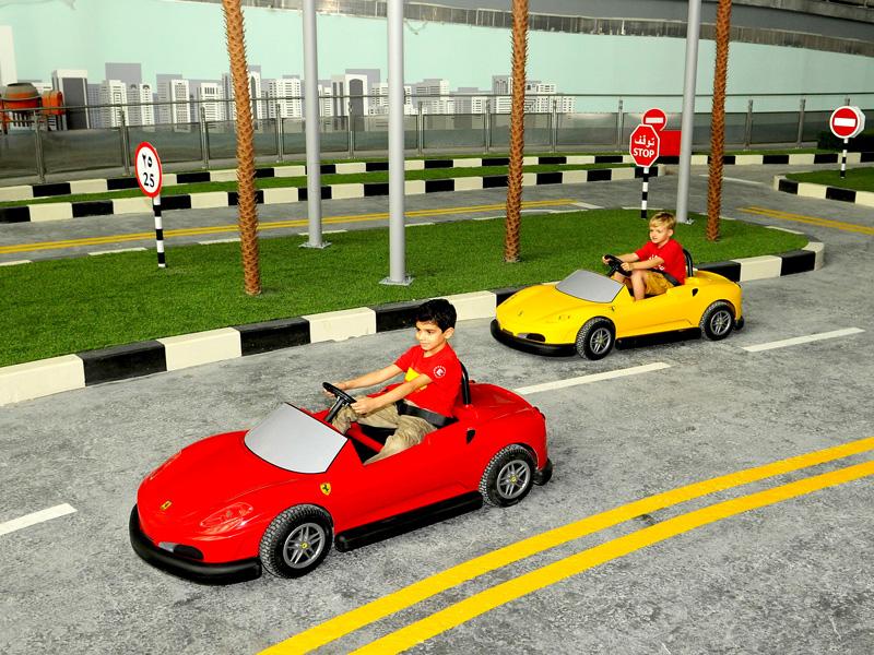 Ferrari World dubai top 14 honeymoon destination in dubai