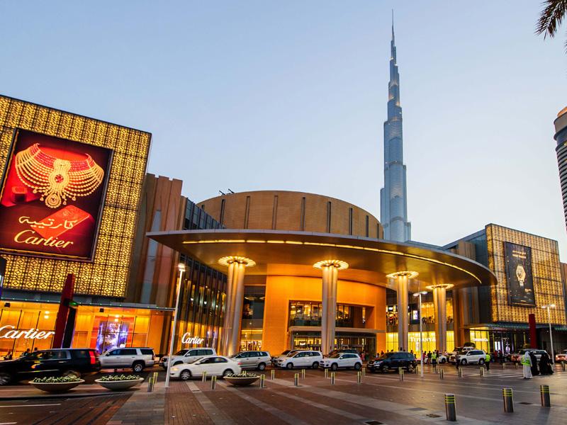 The Dubai Mall top 14 honeymoon destination in dubai