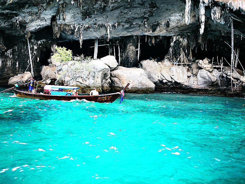 Viking Cave top 12 things to do in phi phi island thailand