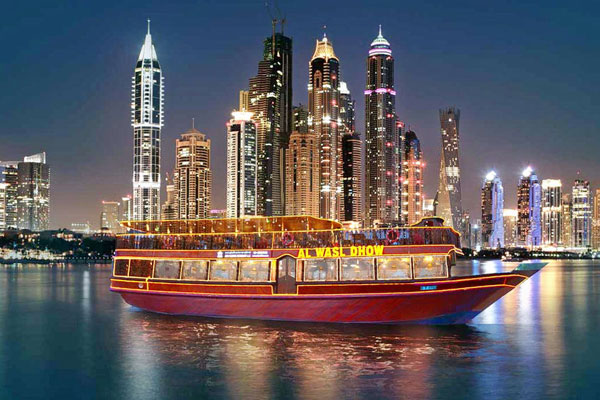 dhow dinner cruise dubai holiday package best romantic places in dubai for couples
