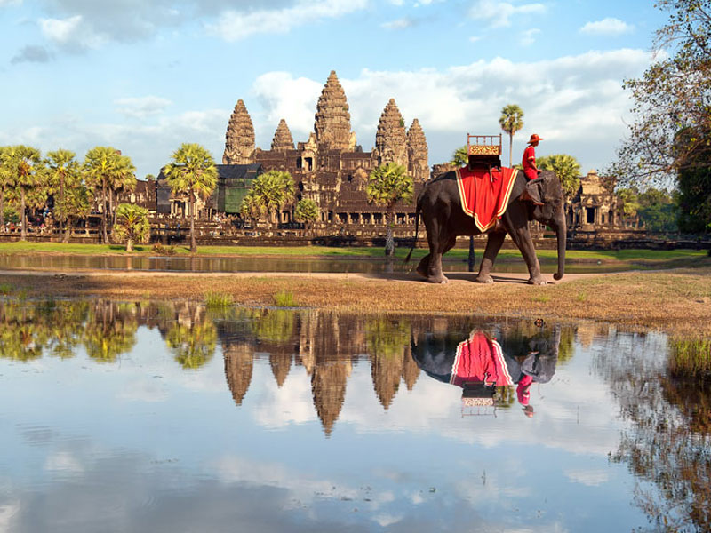 Cambodia lowest international destinations to visit end of the year